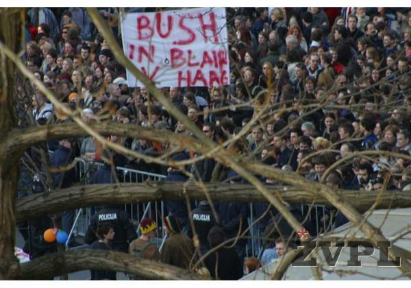 Bush in Blair v Haag