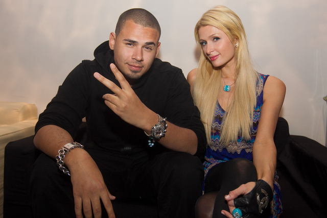 Red (x-mas) party: Davida Guetta, Afrojack in Paris Hilton v Stožicah