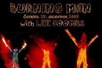 Burning Man with Lee Coombs plakat - thumbnail