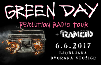 Koncert leta - Green Day in Rancid