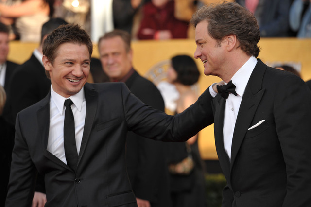 Colin Firth na 17. SAG Awards