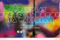 Coldplay: Every Teardrop Is A Waterfall že na svetovnem spletu - thumbnail