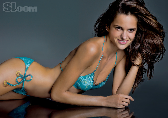 Izabel Goulart bodypaint - Sports Illustrated Swimsuit 2011