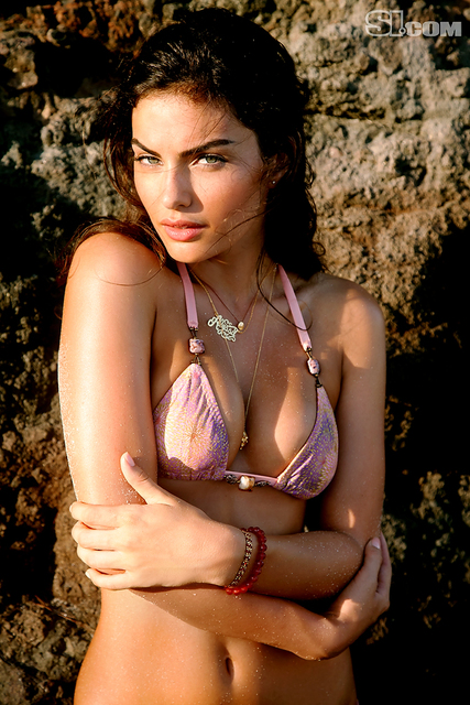 Alyssa Miller v kopalkah - Sports Illustrated Swimsuit 2011