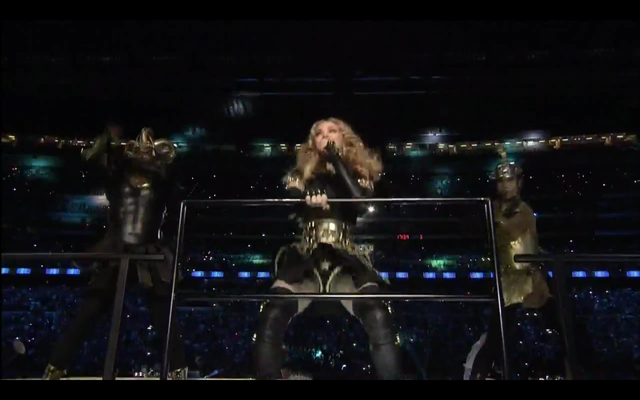 Madonna in njen nastop na Super Bowlu / vir: YouTube