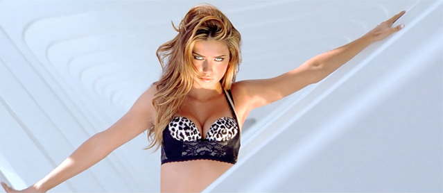 Victoria's Secret - What's Your Fantasy ad - winter 2010 / screenshots from YouTube
