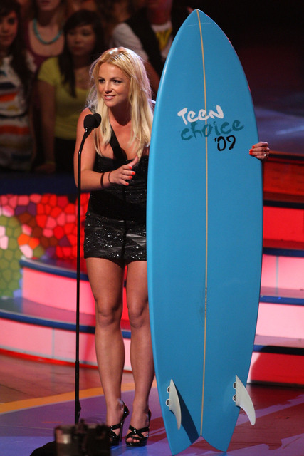 Britney Spears je utimativna izbira na Teen Choice Awards 2009 / vir: Celebutopia
